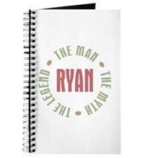 Ryan Man Myth Legend Journal
