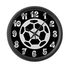 Soccer Wall Clock Large Wall Clock