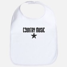 Country Music Star Bib