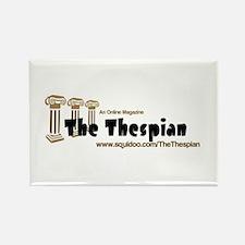 Cute Thespian Rectangle Magnet