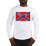 Dixie Yid Confederate Flag Long Sleeve T-Shirt