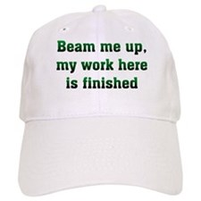 Beam Me Up Baseball Cap