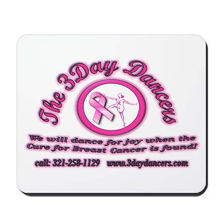 2009 3Day Dancers Mousepad