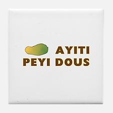 Funny Kreyol Tile Coaster