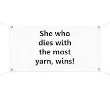 Cool Yarnaholic Banner