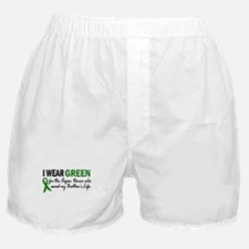 I Wear Green 2 (Brother's Life) Boxer Shorts