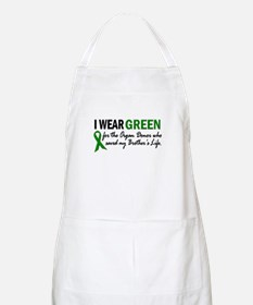 I Wear Green 2 (Brother's Life) BBQ Apron