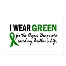 I Wear Green 2 (Brother's Life) Postcards (Package