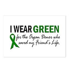 I Wear Green 2 (Friend's Life) Postcards (Package
