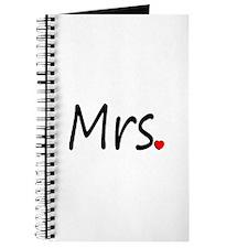 Mrs (Red Heart) Journal