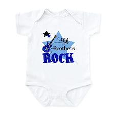 Big Brothers Rock Guitar Baby Infant Bodysuit
