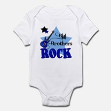 Big Brothers Rock Guitar Baby Infant Bodysuit