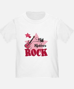 Big Sisters Rock Guitar T