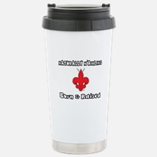 Naturally N'Awlins Stainless Steel Travel Mug