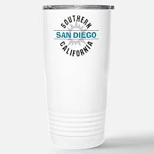 San Diego California Stainless Steel Travel Mug