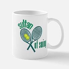 Crossed Tennis Rackets Mug