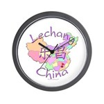 Lechang China Map Wall Clock