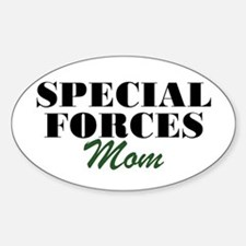 Special Forces Mom Oval Decal