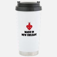 Made in New Orleans Stainless Steel Travel Mug