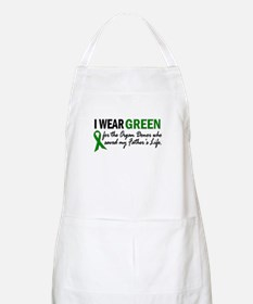 I Wear Green 2 (Father's Life) BBQ Apron
