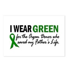 I Wear Green 2 (Father's Life) Postcards (Package