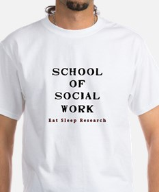 eat sleep research  for Shirt