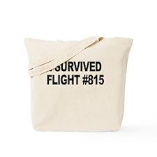 I Survived Flight #815 Tote Bag