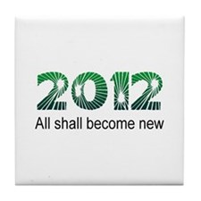 2012 Become New Tile Coaster