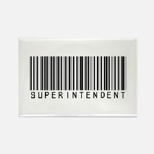 Superintendent Barcode Rectangle Magnet (10 pack)