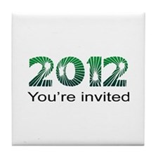 2012 Invited Tile Coaster