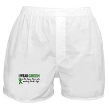 I Wear Green 2 (Uncle's Life) Boxer Shorts