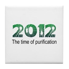 2012 Purification Tile Coaster