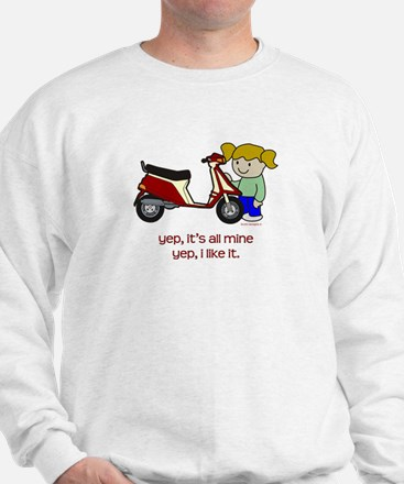 Scooter Girl Sweatshirt