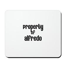 Property of Alfredo Mousepad