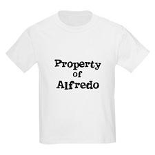 Property of Alfredo Kids T-Shirt