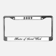 Cool Msw License Plate Frame