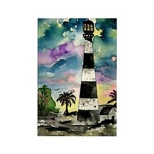 Cape Canaveral Florida lighth Rectangle Magnet