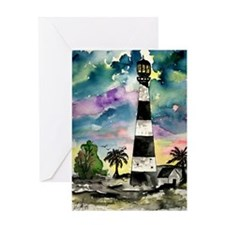 Cape Canaveral Florida lighth Greeting Card