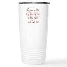 Shaking Family Tree (Red) Travel Mug