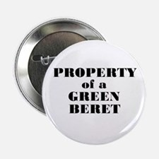 Property of a Green Beret Button