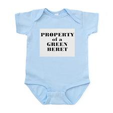 Property of a Green Beret Infant Creeper