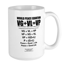 WORLD PEACE EQUATION Mug