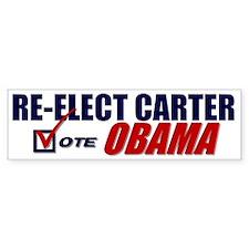 Re-elect Carter Bumper Stickers