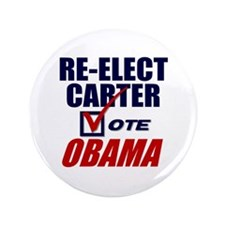"Re-elect Carter 3.5"" Button (100 pack)"