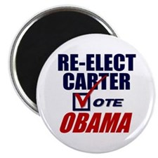 "Re-elect Carter 2.25"" Magnet (100 pack)"