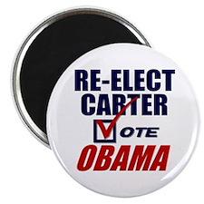 "Re-elect Carter 2.25"" Magnet (10 pack)"