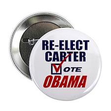 """Re-elect Carter 2.25"""" Button"""