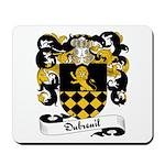 Dubreuil Family Crest Mousepad