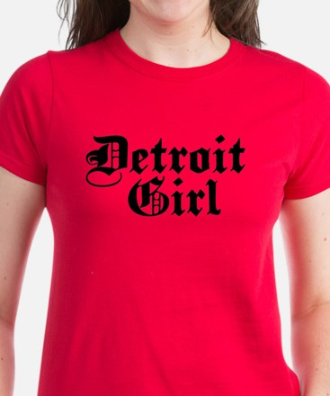 Detroit Girl Women's Dark T-Shirt