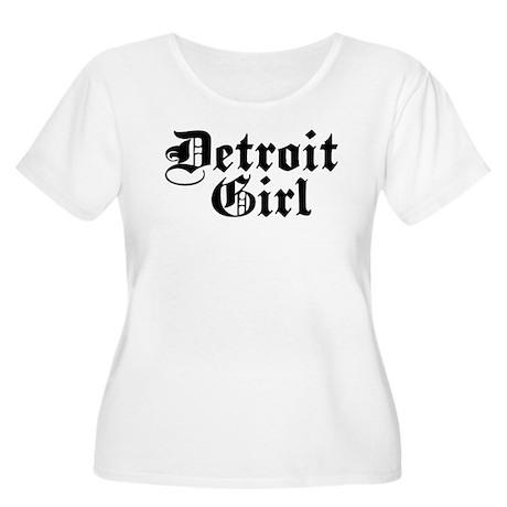 Detroit Girl Women's Plus Size Scoop Neck T-Shirt